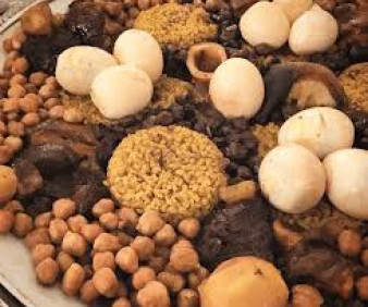 Jewish Moroccan traditional cuisine